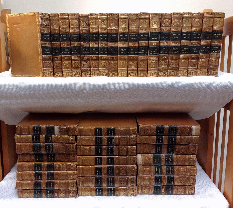 Image for WAVERLEY NOVELS (39 OF 48 VOLUMES) (LEATHER BOUND) Waverly Novels