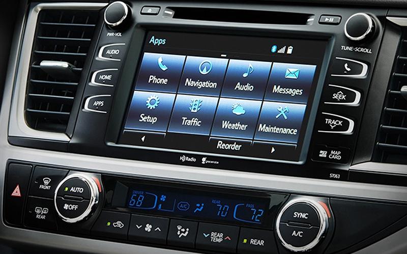 2018 Toyota Highlander Entune Multimedia Bundle Apps