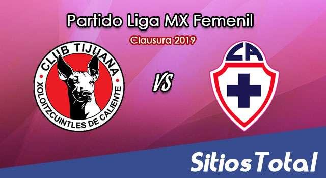 Ver Xolos Tijuana vs Cruz Azul en Vivo – Liga MX Femenil – Clausura 2019 – Lunes 11 de Febrero del 2019