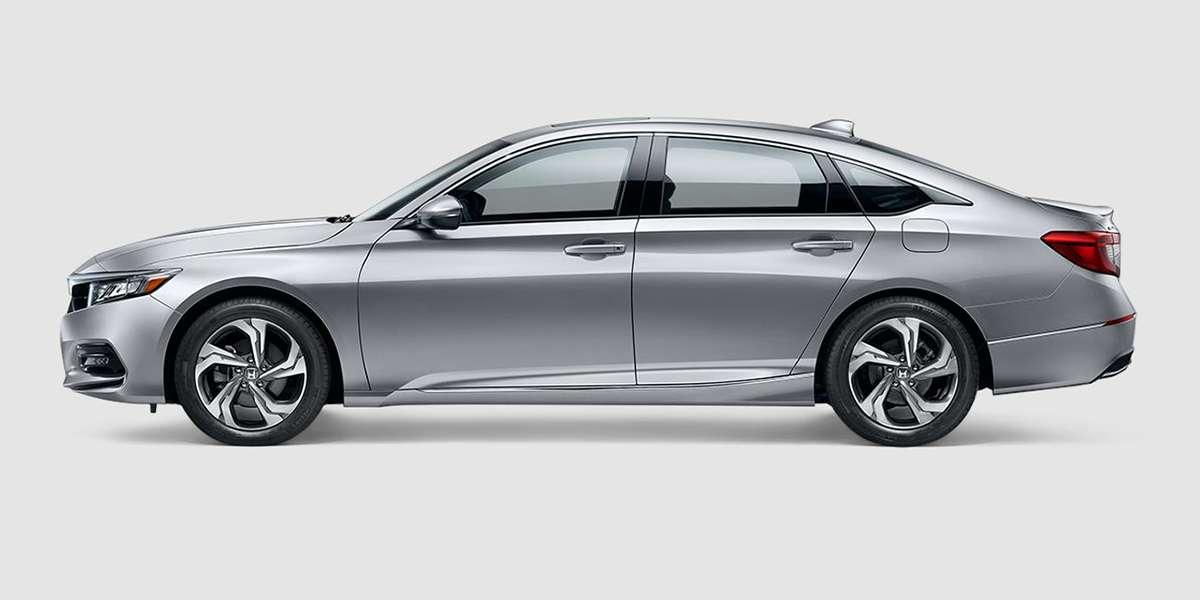 2018 Honda Accord EX in Lunar Silver