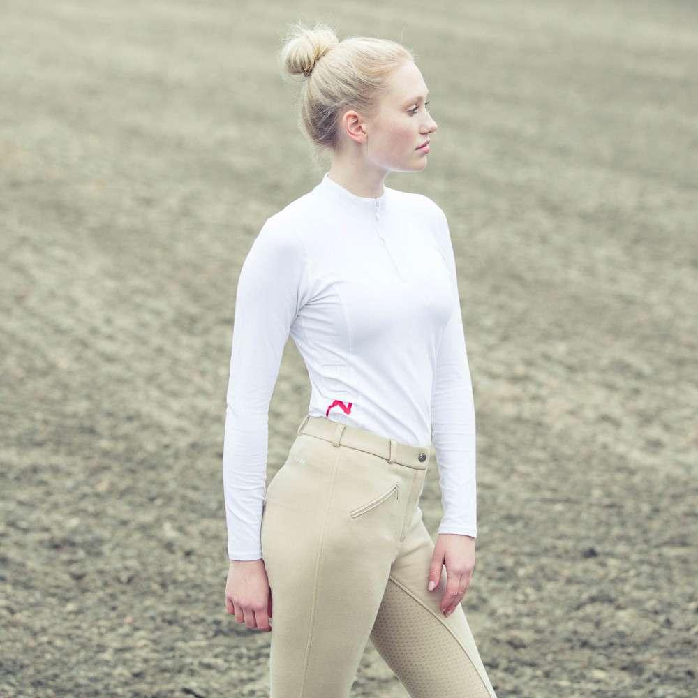 Horze-Women-039-s-Active-Silicone-Grip-Full-Seat-Riding-Breeches-Elastic-Leg-Bottoms thumbnail 10