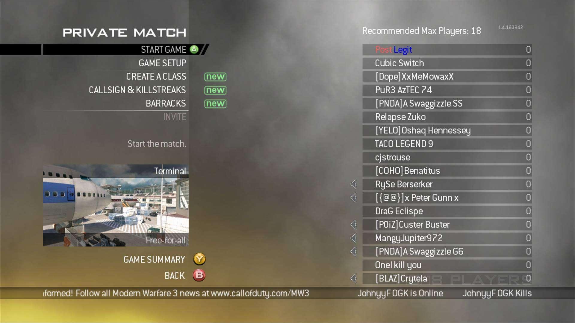 Mw2 Server Status Xbox One