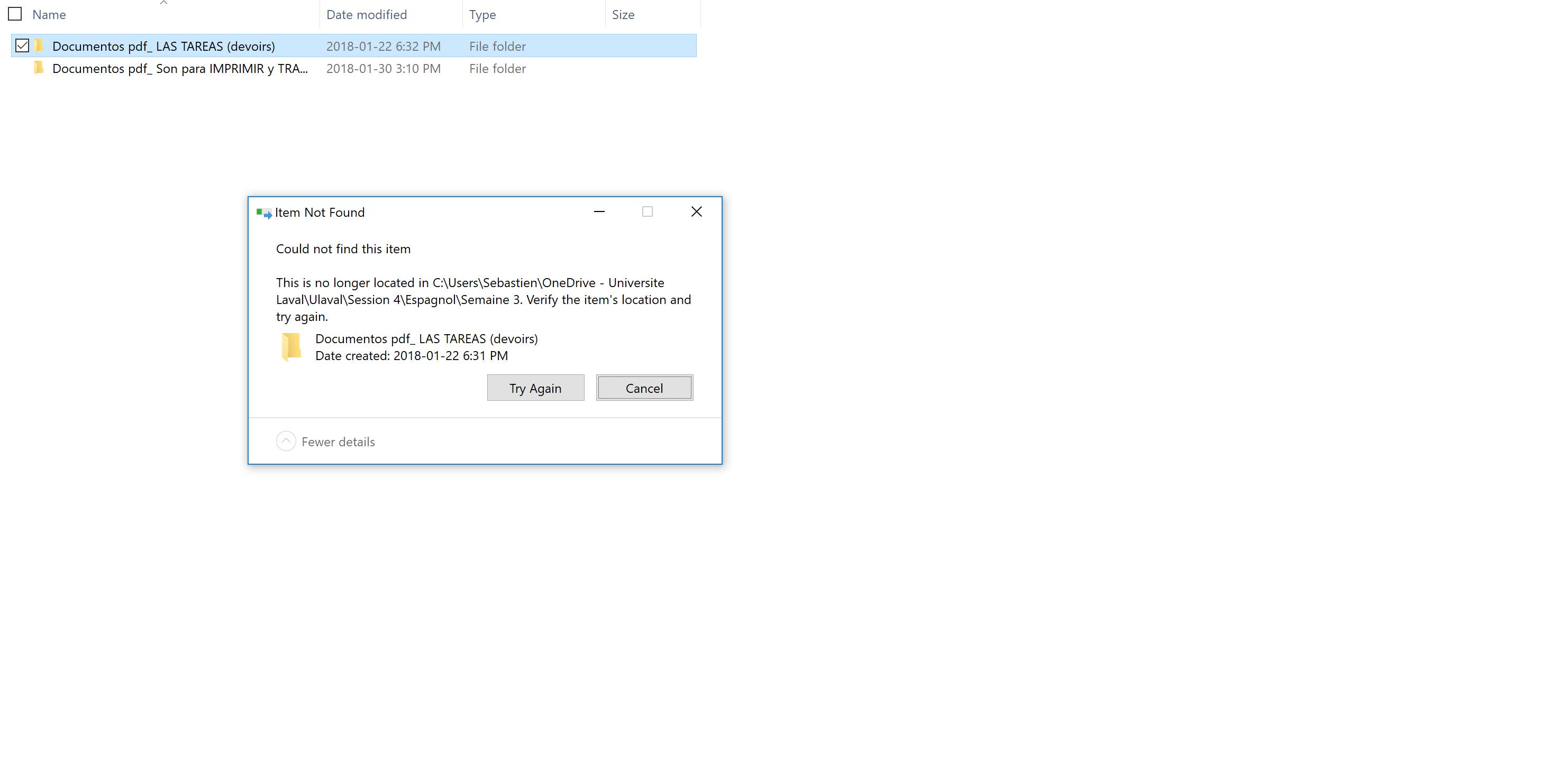 Cannot move, delete file | Tom's Hardware Forum
