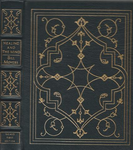 HEALING AND THE MIND Signed Easton Press, Bill Moyers
