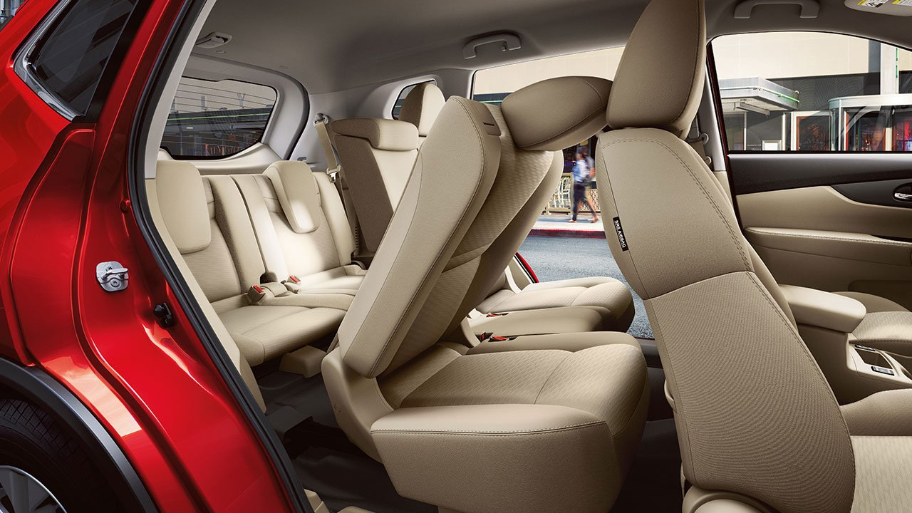 2017 Nissan Rogue Ez Flex Seating System Third Row