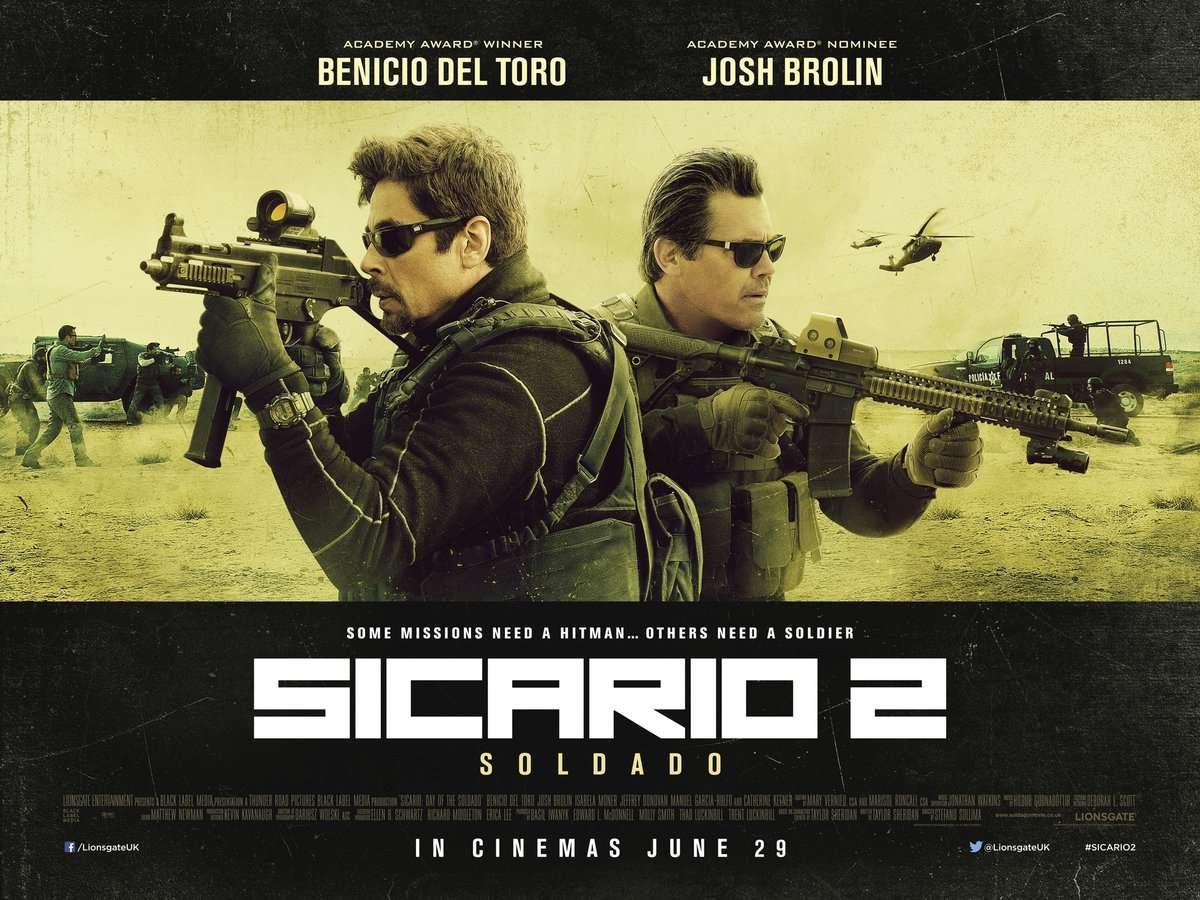 Sicario 2: Η μάχη των εκτελεστών (Sicario: Day of the Soldado) Quad Poster Πόστερ