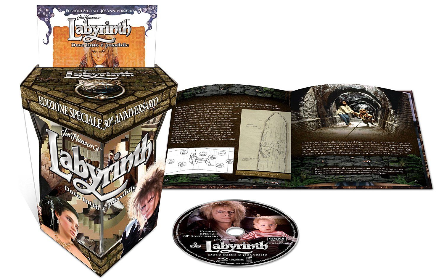 labyrinth limited edition
