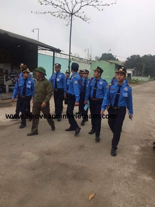 Triển khai bảo vệ nhà máy giấy Hoàng Văn Thụ