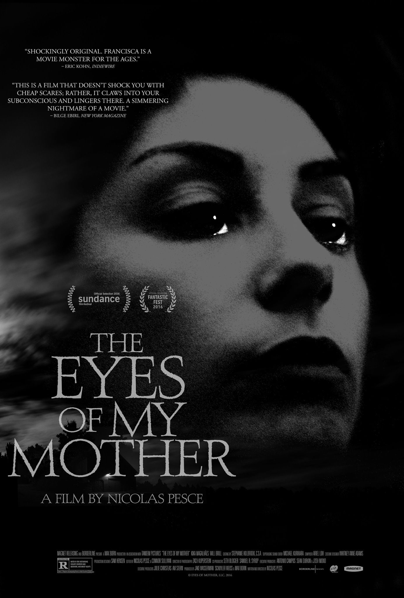 Poster The Eyes of My Mother 2016 Full Movie Download HD 720p English 700Mb