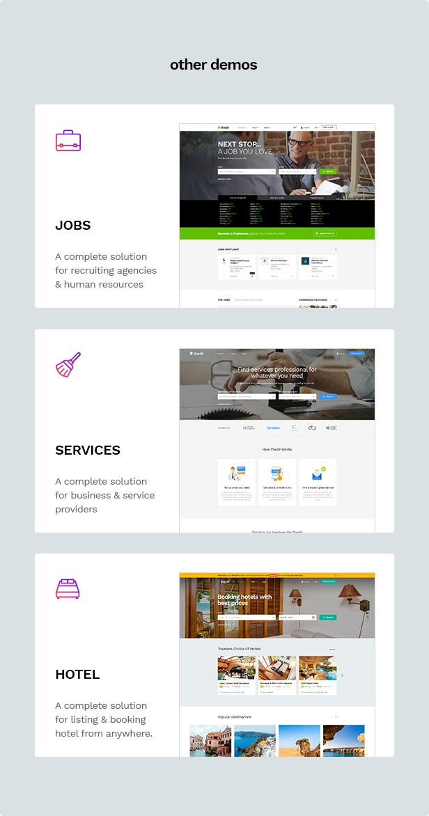Thedir | Unlimited Listing & Directory PSD Template - 5