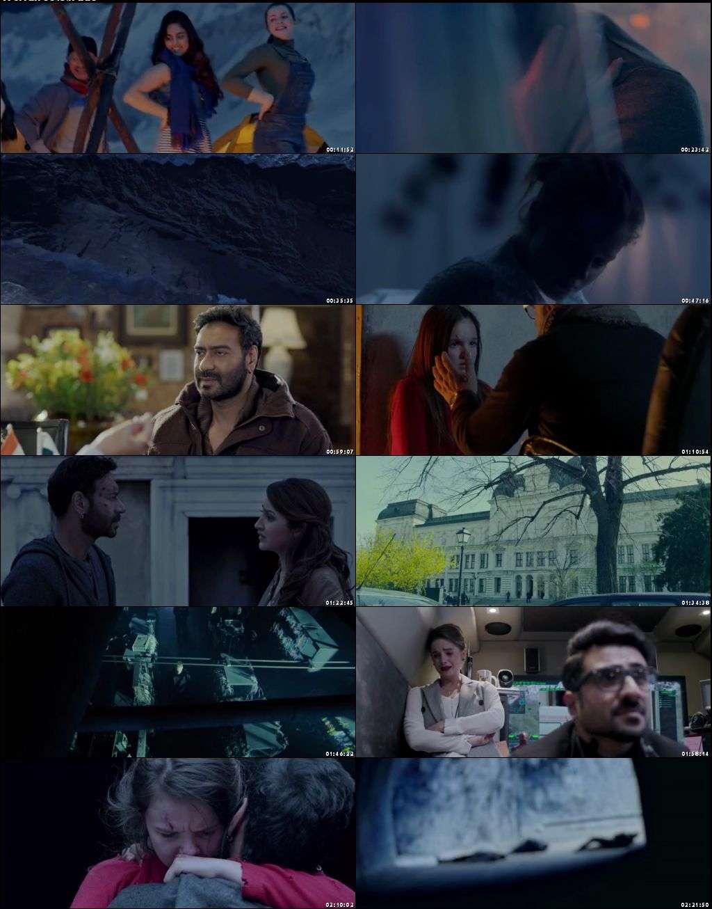 Screen Shots Shivaay 2016 Full Hindi Movie Download 400MB HD 480p