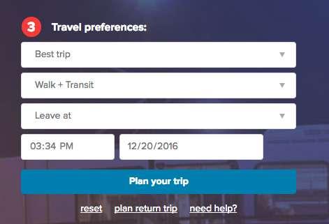 RTD | Trip Planner Tips