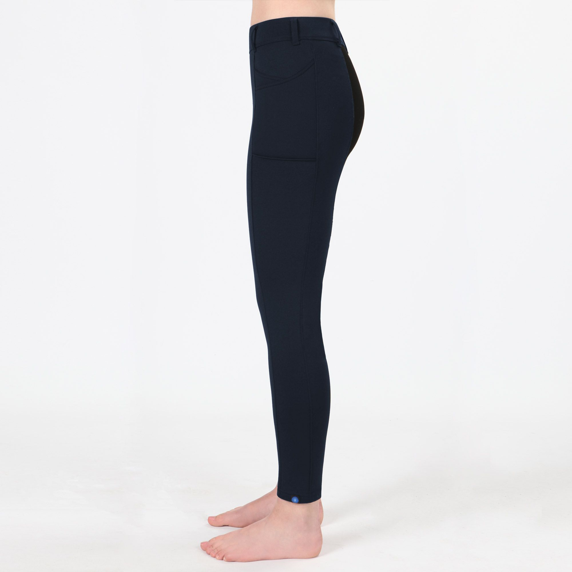 Irideon Thermasoft Wouomo Full Seat Riding Breeches with with with Criss-Cross Fleece e362d3