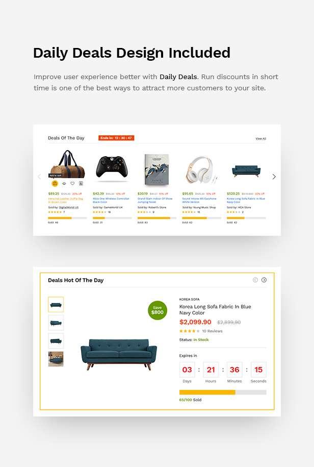 MartFury | Multi-Vendor & Marketplace eCommerce PSD Template - 17