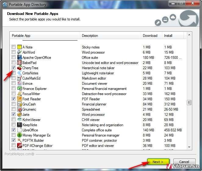 Tổng hợp +300 phần mềm Portable thông dụng miễn phí