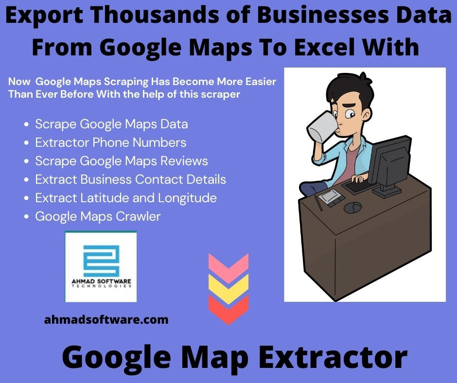 Export Thousands of Businesses Data From Google Maps To Excel