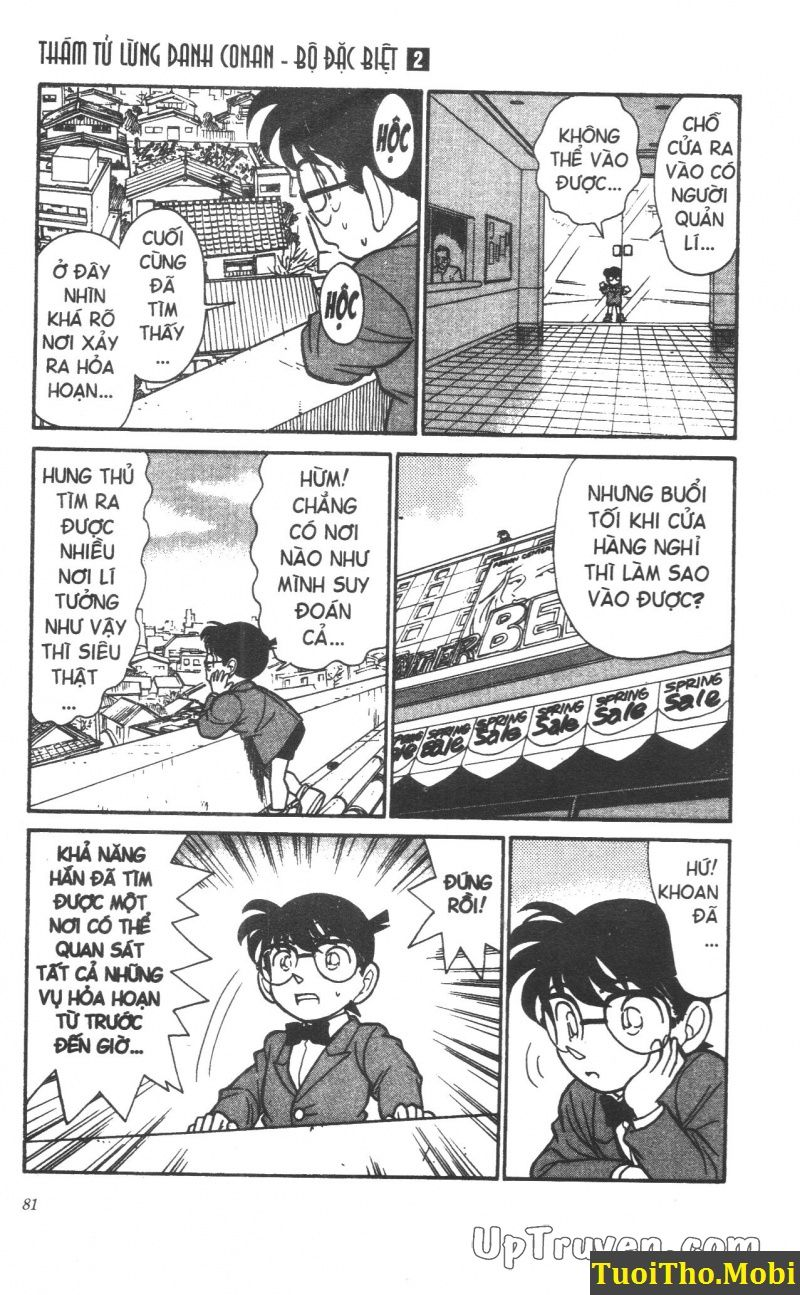 đọc truyện Conan bộ đặc biệt chap 13 trang 8