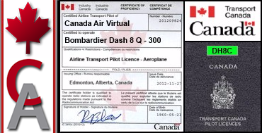 Bombardier Dash 8 Q-300 Certification Flight