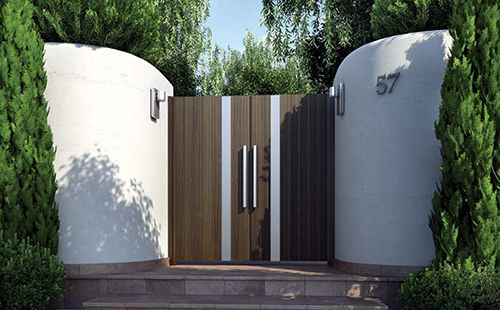 Corrosion Resistant Gate