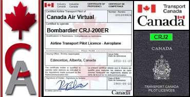 Bombardier CRJ-200ER Certification Flight