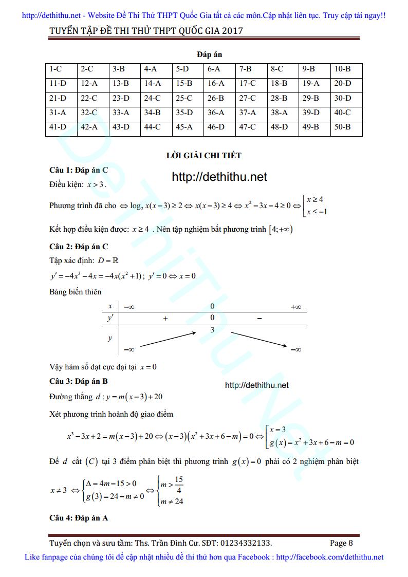 De thi thu Toan 2017 THPT Ngo Gia Tu, Vinh Phuc lan 3 giai chi tiet trang 8
