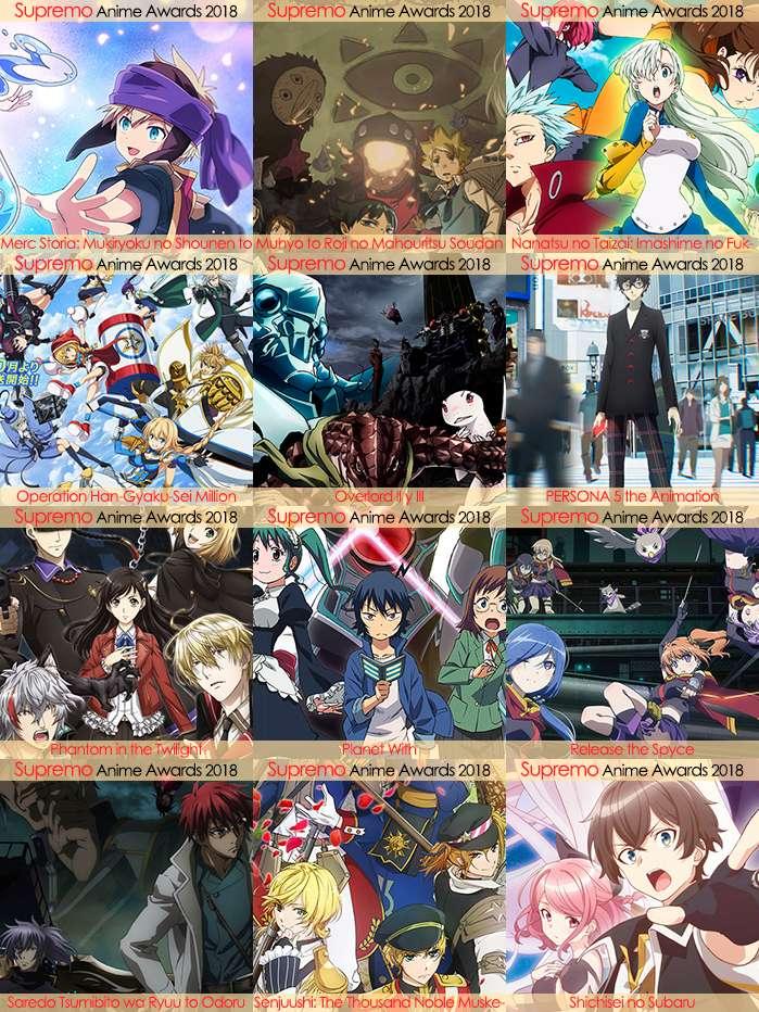 Eliminatorias Nominados a Mejor Anime de Acción 2018