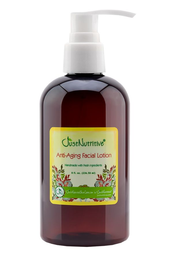 Just Nutritive Anti-Aging Facial Lotion 8 oz.