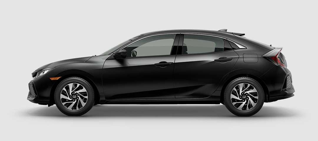 2018 Honda Civic Hatchback LX in Crystal Black