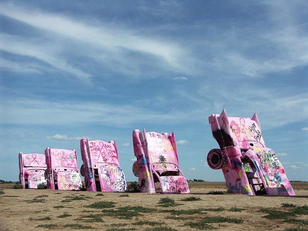Cadillac Ranch (Amarillo/ Texas)