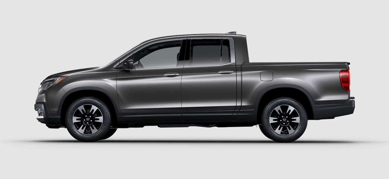 2018 Honda Ridgeline RTL-E in Modern Steel