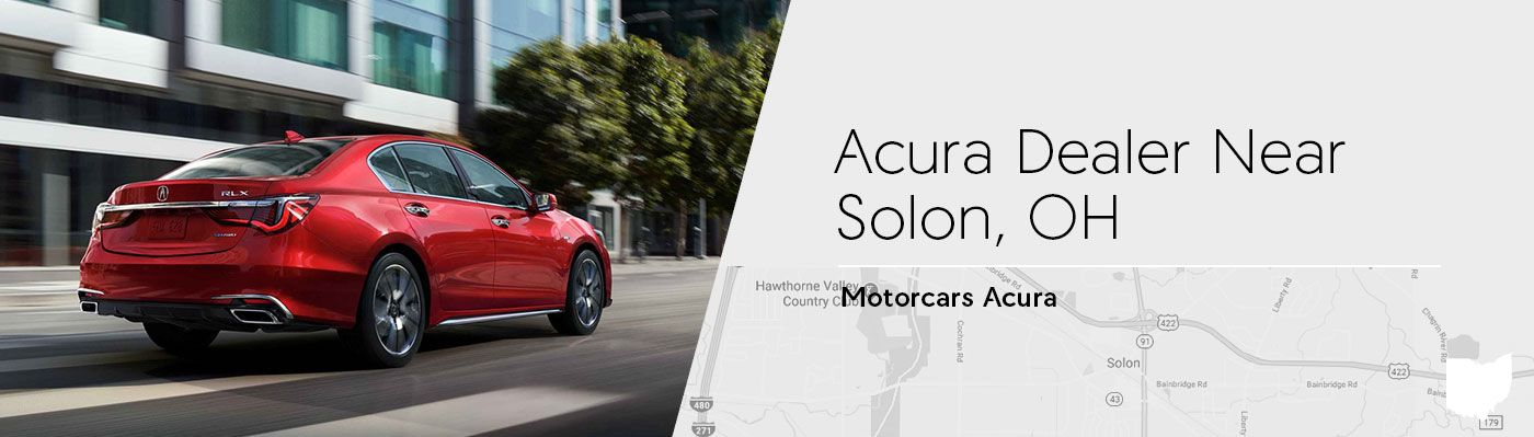 Motorcars Acura Serving Solon, OH