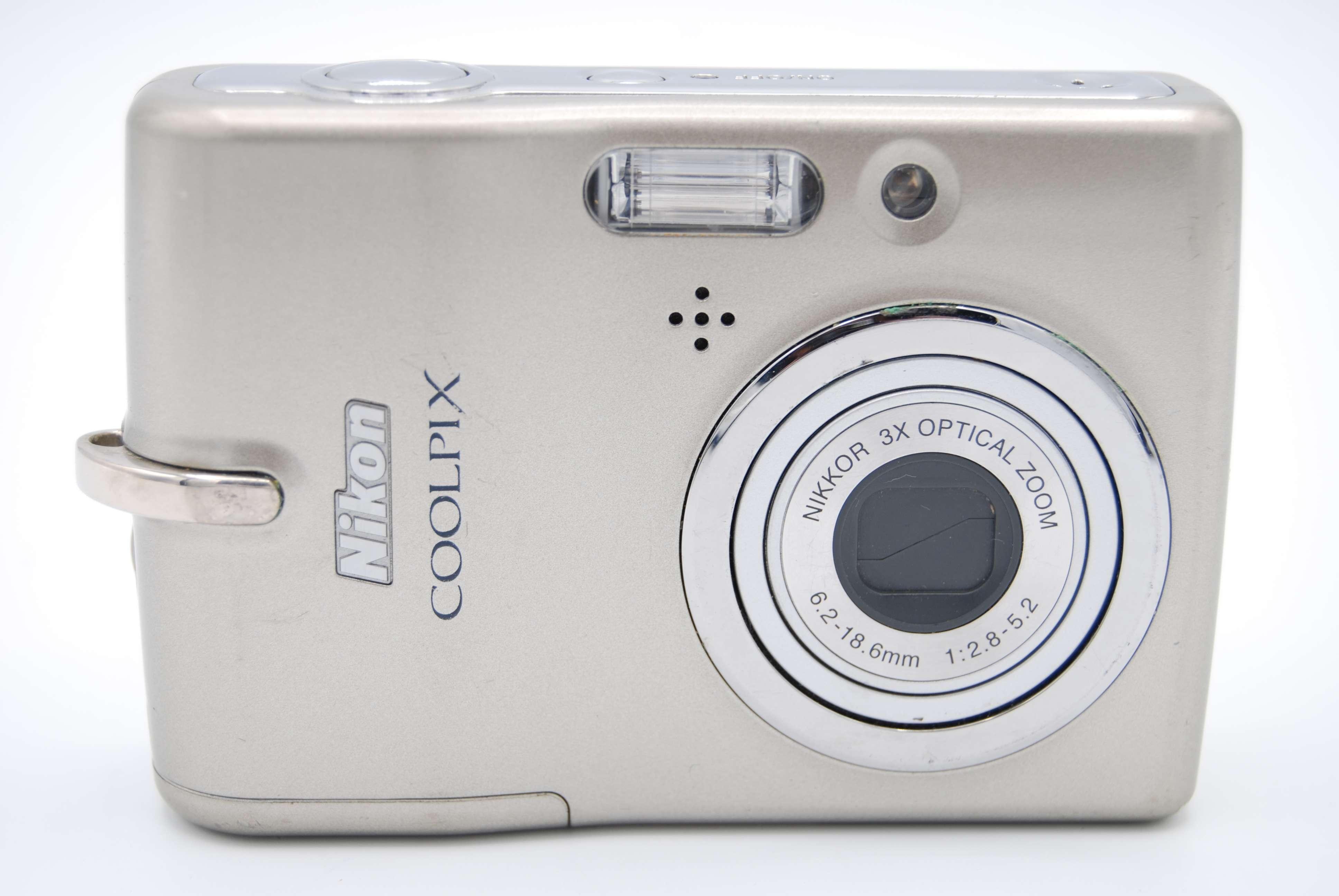 nikon coolpix l11 6 0 mp 2 4 screen 3x digital camera no battery rh ebay com Memory Card Nikon Coolpix L11 Nikon Coolpix 532