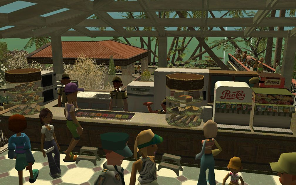 My Projects – CSO's I Have Imported, Café: Update 1 – Café Scene With Food Cases On Display, Image 03
