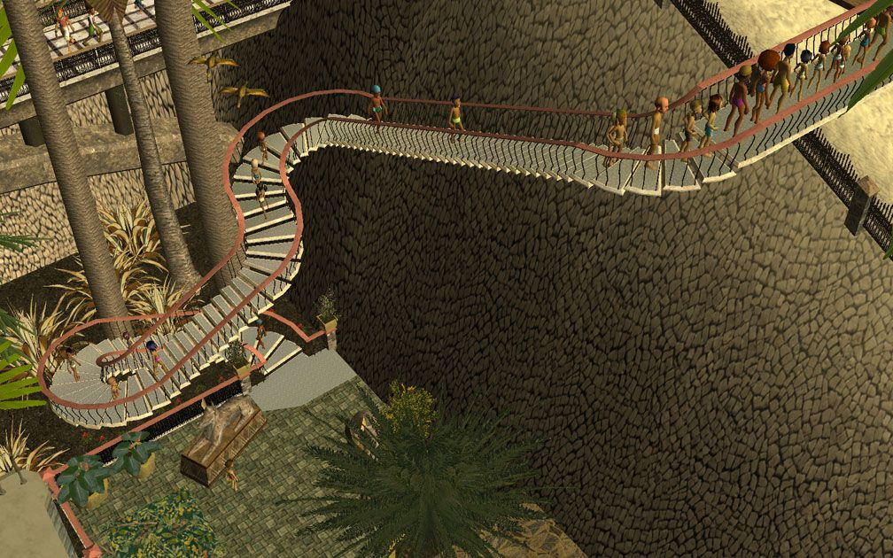 My Projects - CSO's I Have Imported, Pool Paths Set - Access Path To Body Slide From Pool Complex, Image 02