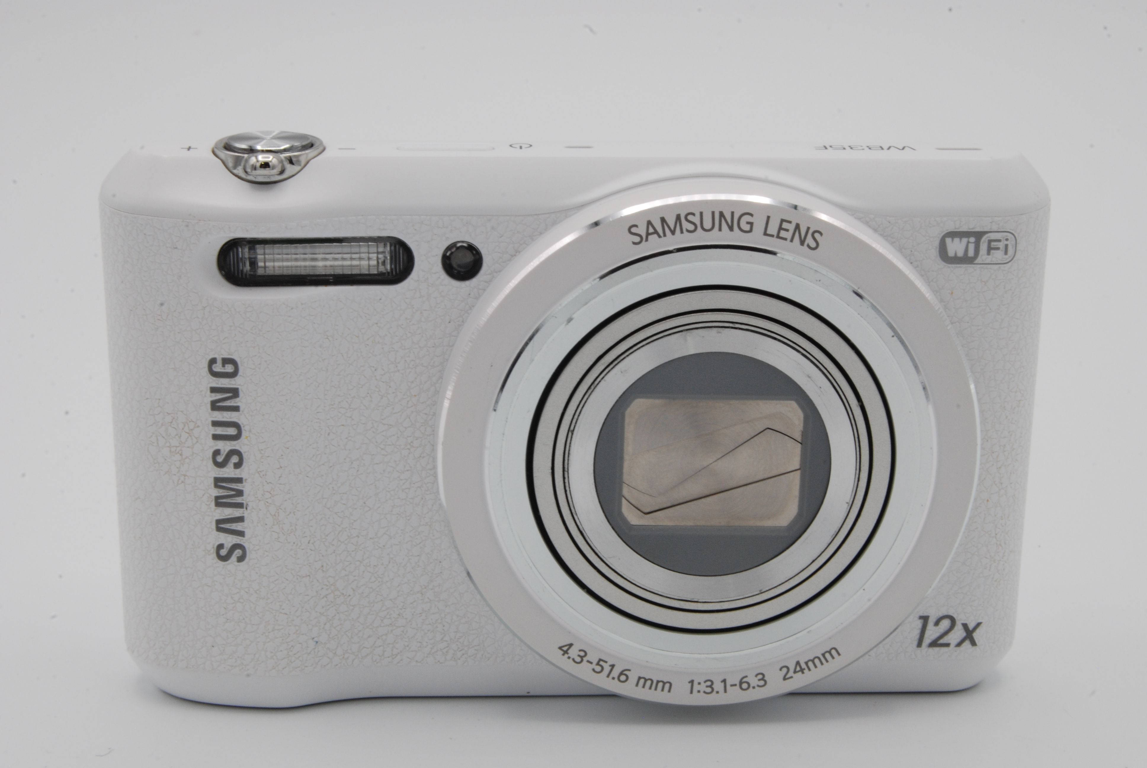 Details about Samsung WB Series WB35F 16 2MP 2 7'' Screen 12X Digital  Camera - White