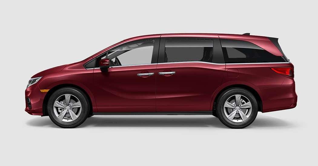 2018 Honda Odyssey EX in Deep Scarlet