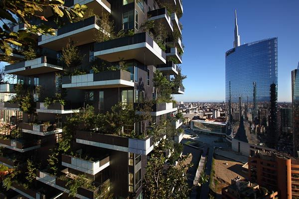 Bosco Verticale - Vertical Forest (Milan /Italy)