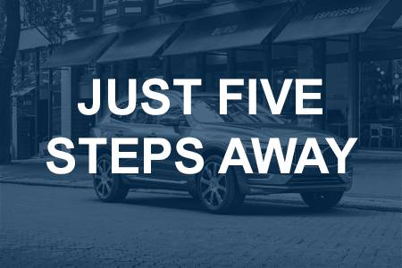 Volvo Cars Just 5 Easy Steps Away