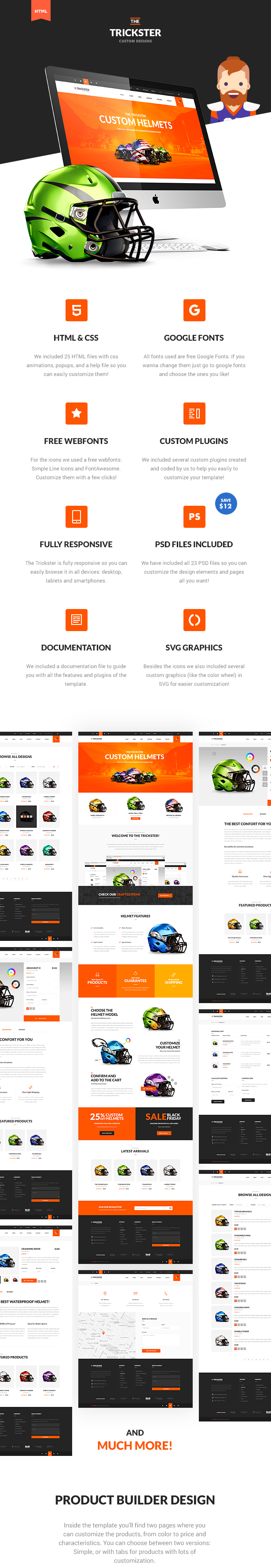 The Trickster - Multipurpose HTML Product Builder and Shop - 7