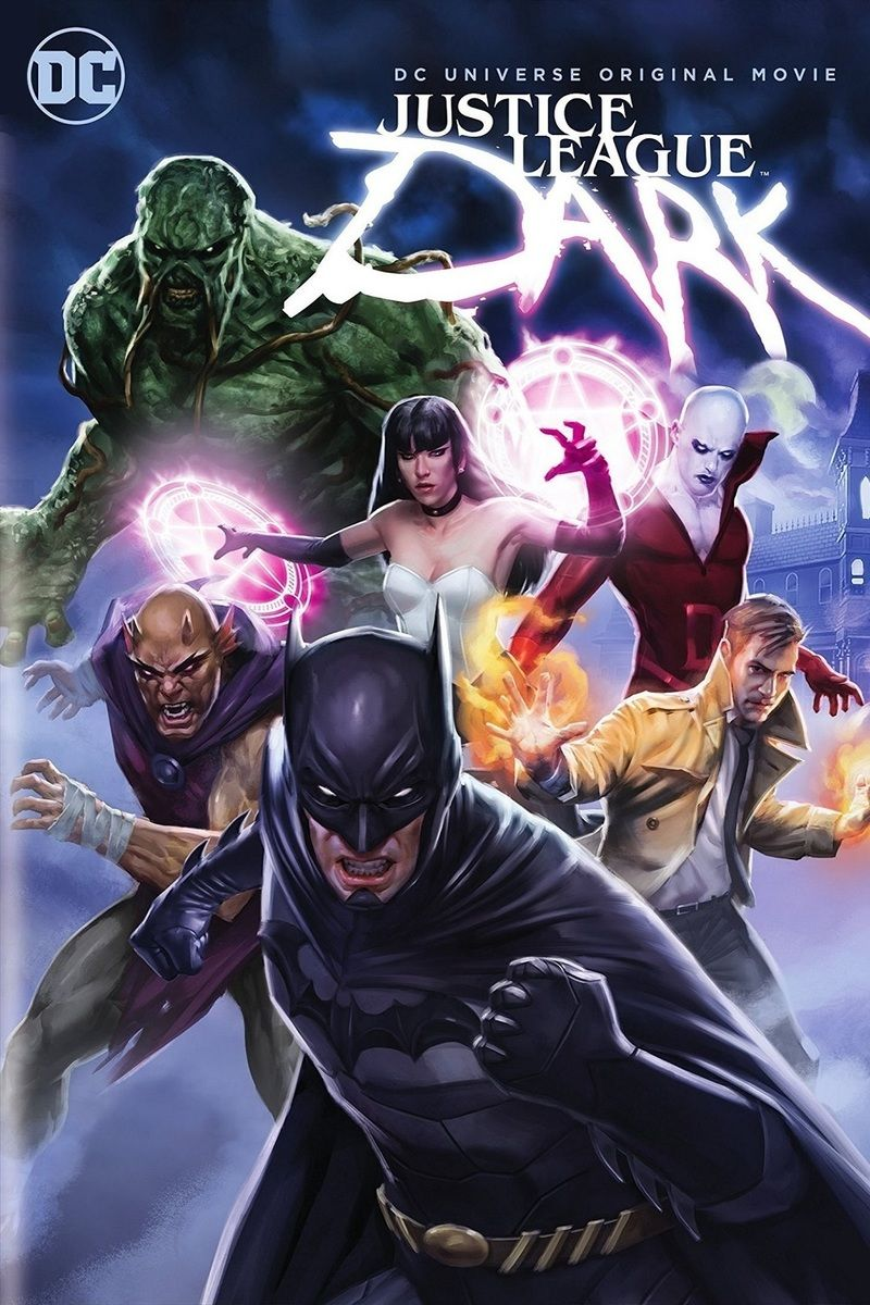Poster Justice League Dark 2017 Full Movie HD 480p English 300MB