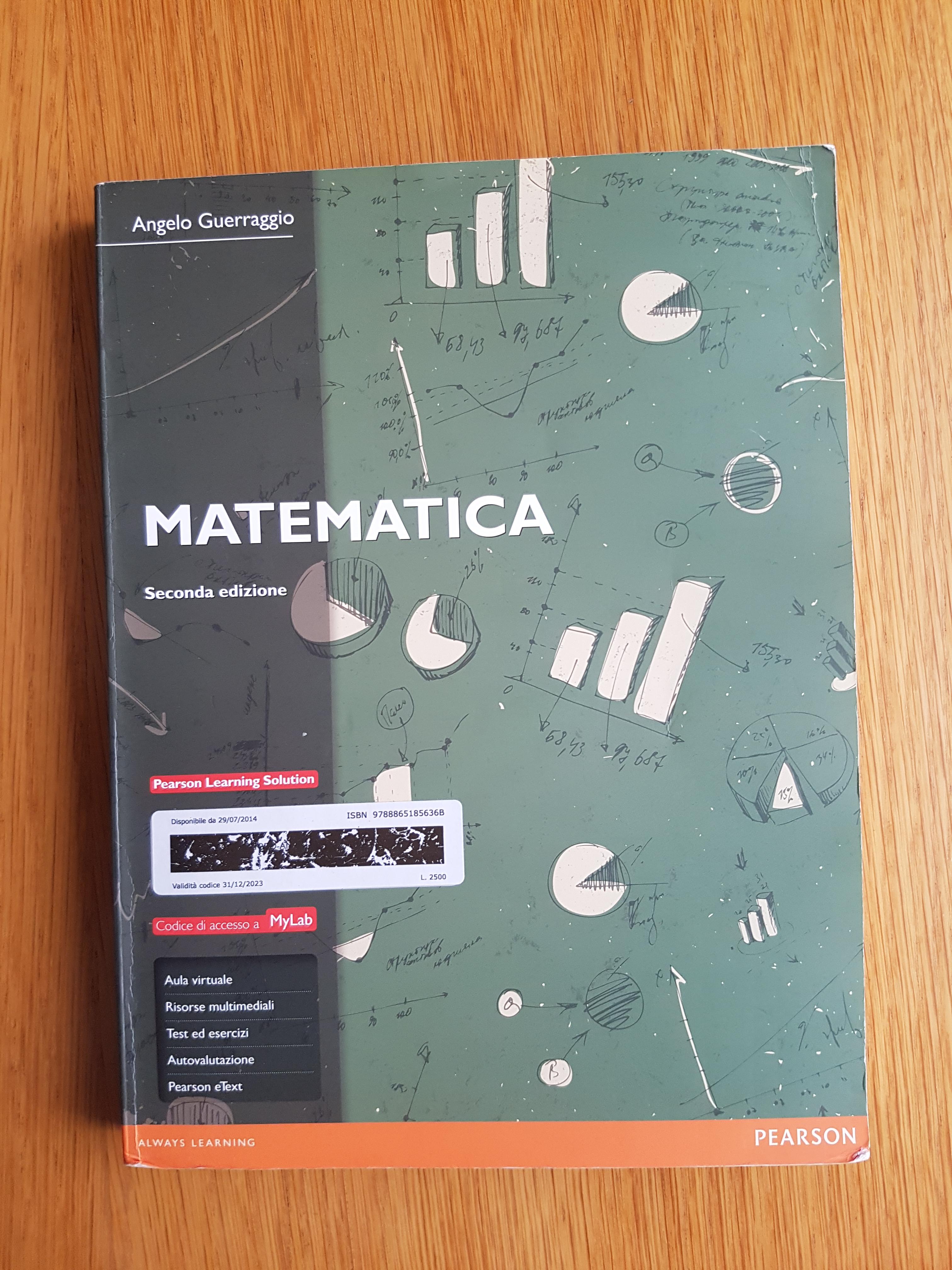 Matematica - Mylab