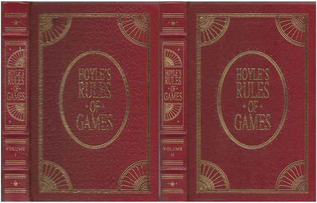 Hoyle's Rules of Games, Volumes I and II