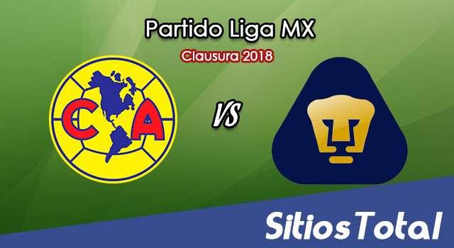 América vs Pumas en Vivo – Vuelta Cuartos de Final – Liga MX – Sábado 5 de Mayo del 2018