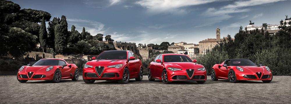 2018 Alfa Romeo Model Lineup