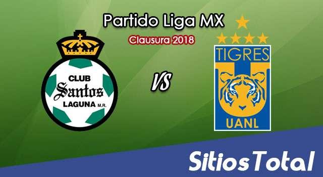 Santos vs Tigres en Vivo – Vuelta Cuartos de Final – Liga MX – Domingo 6 de Mayo del 2018
