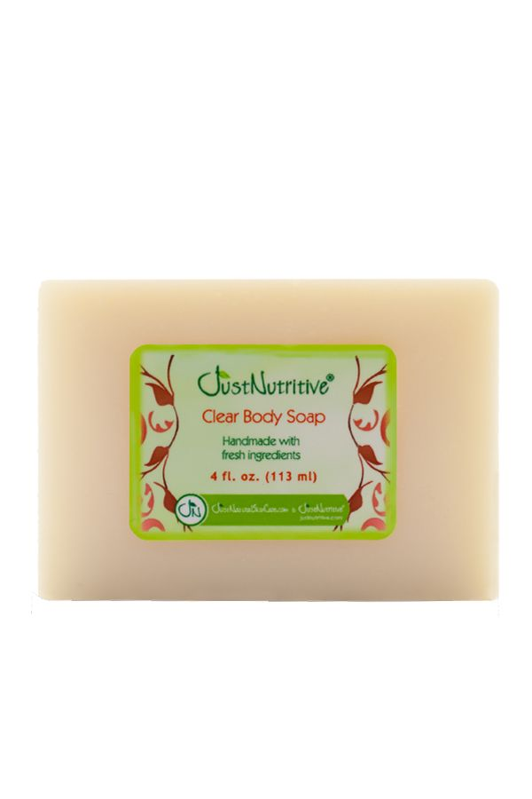 Just Nutritive Clear Body Soap 4 oz