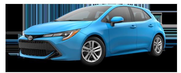 2019 Corolla Hatchback SE Lease Deal in Columbus, Ohio