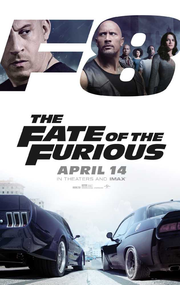 Poster Fast And Furious 8 Full Movie Download Dual Audio in Hindi