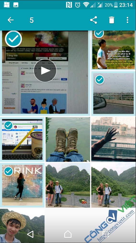 Thủ thuật up Ảnh + Video cùng lúc lên Fanpage