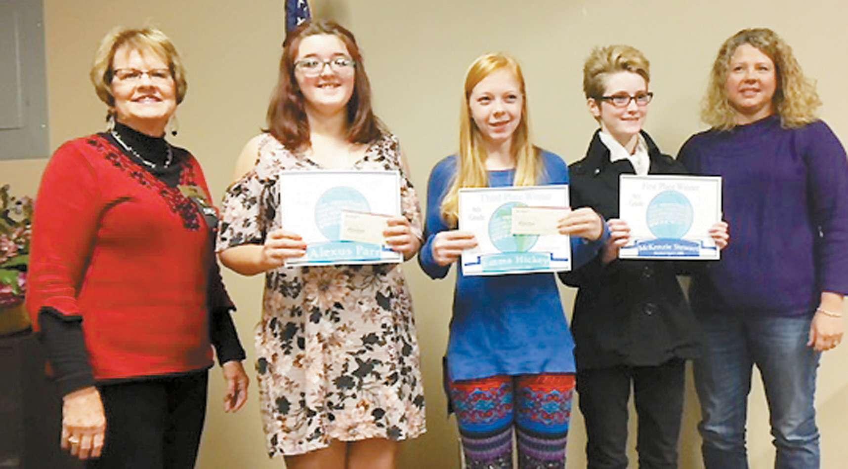 Reydon Students Are DKG Essay Winners